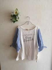 w closet wears inc☆結び袖カットソー