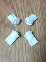 超特価LED T10ウェッジ球 白発光SMD使用 4個セット(12V専用)