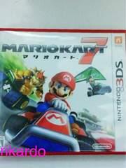 【中古】3DS マリオカート7【美品】送料込
