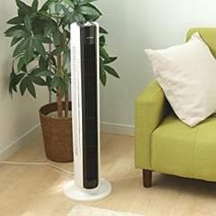 【暑さ対策】扇風機 縦置き アイリスオーヤマ タワーファン