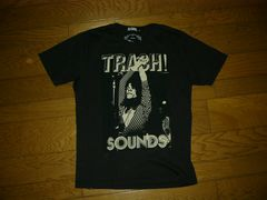 HYSTERIC GLAMOURヒステリックグラマーフォトTシャツ黒MTRASH