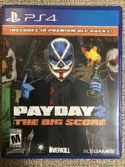 PAYDAY2 THE  BIG SCORE 極美品 PS4 北米版 ペイデイ2