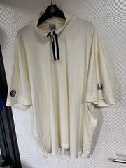 シナコバ 半袖ハーフジップポロシャツ4 L