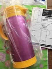 【未使用】卓上用まほうびん☆ピンク色☆保温&保冷