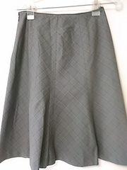 ミシェルクラウン チェックスカート 38サイズ定形外250