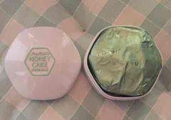 資生堂ホネケーキ(エメラルド)透明洗顔石鹸 枠練り ケース付