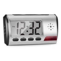 隠しカメラ 小型 長時間録画 目覚まし時計 型