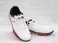 ラーキンス 6236 25.0cm ホワイト/レッド LARKINS スニーカー
