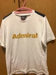 美品☆Admiral☆白半袖160
