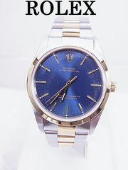 ROLEX オイスターパーペチュアル 14203 SS/YG 自動巻 時計 男性用★dot