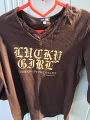 ブラウン Tシャツ