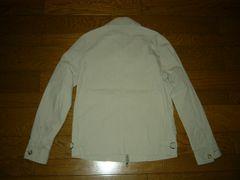 新品COMME CA ISMコムサイズムシャツジャケットSスイングトップ