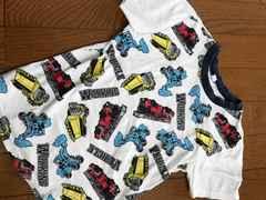 美品☆車柄120ティシャツ