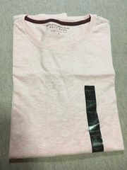BANANA REPUBLIC*Tシャツ*L、薄ピンク、新品タグ付き