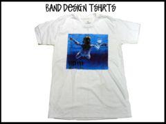 新品未使用 Nirvana ニルバナバンド デザイン T-シャツ
