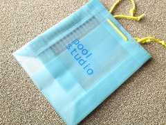 poolstudio プールスタジオ丈夫なロゴショップ袋 サブバッグにも