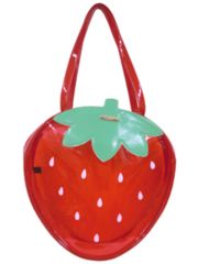 【新品】フルーツバッグ☆ビニール製品(イチゴ)