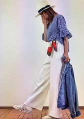 H&M★新品♪ちょっぴりダメージ加工の柔らかデニムジャケット