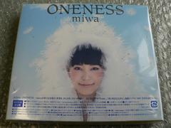 新品未開封/miwa 『ONENESS』 初回限定盤【CD+DVD】LIVE映像84分