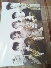 EXO 直筆サイン写真