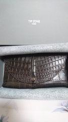 TIP ZONE 神戸 クロコダイル財布&コインケース