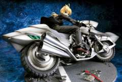Fate セイバー&セイバー・モータード・キュイラッシェ 1/8完成品●●未開封・即決!