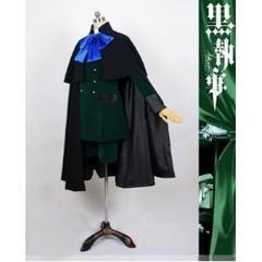 K084黒執事★シエル・ファントムハイム★外出礼服マント付き衣装