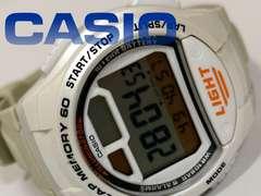 良品【980円〜】CASIO ラップメモリー搭載 メンズ 腕時計