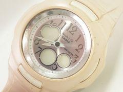 7776/CASIOカシオBaby-GBG-90ピンク液晶ダイヤルレディース腕時計