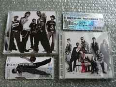 EXILE/GLAY/SCREAM(30万枚)+倖田來未/WON'T BE LONG(初回)DVD2枚