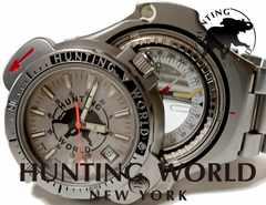 良品 正規★ハンティングワールド【コンパス】メンズ腕時計