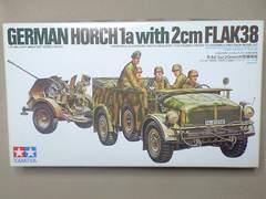 1/35 タミヤ ホルヒ1a・20mm対空機関砲