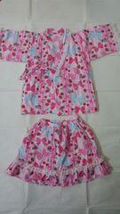 フェリシモ 浴衣ドレス 130�p(中古)