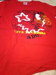 遊助、赤TシャツL