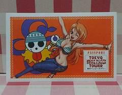 東京ワンピースタワー当日入場券 ナミ