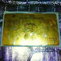 レア新品限定ドラえもんズゴールド金色テレホンカード当時物昭和