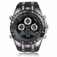 激安商品♪BINZI 軍事腕時計 アナデジ表示 メンズ ビンズ