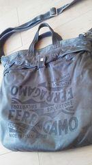 確実本物Ferragamoほわほわ革2wayバッグ