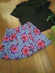 〇ZARA〇海プールに☆さらりミニスカート*・゜美品