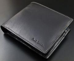 お買い得☆未使用品 ポールスミス カラーフラッシュ 折り財布 黒
