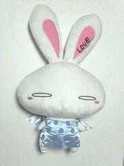 Rabbit 大塚愛・超大型LOVE BIG×BIGぬいぐるみ[ラブうさぎ]J-POP