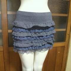 DELYLEミニ フリル スカート