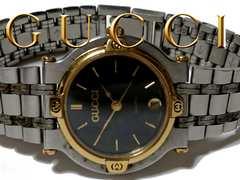 正規 1スタ★グッチ/Gucci 定価7万!!!! 9000L 高級腕時計☆