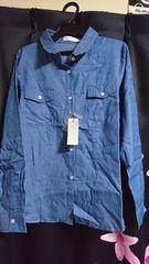 新品セシルマクビーのデニムシャツ