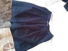 VIS 紺 シンプルスカート