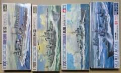 1/700 日本海軍 駆逐艦 峯雲・秋霜・島風・霜月 4隻セット