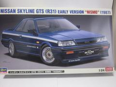 ハセガワ 1/24 7thスカイライン(R31) GTS 前期型NISMO