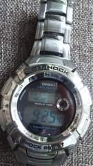 カシオG-SHOCK希少限定イルクジモデルG-7000KステンレスGショックタフソーラー腕時計