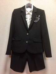 DECORA PINKY'S 165A  ハーフパンツスーツ☆卒業式
