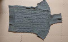 MISCH MASCH  グレー タートル 半袖セーター 美品 38号